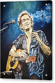 Keith Richards Acrylic Print