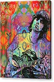 Keith Richards Zone Acrylic Print