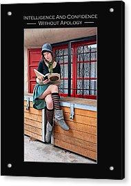 Kellie Peach 2-45 Acrylic Print
