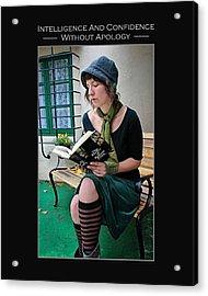 Kellie Peach 5-69 Acrylic Print