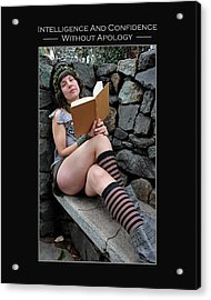 Kellie Peach 9-129 Acrylic Print