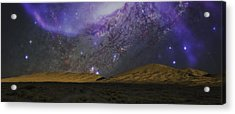 Acrylic Print featuring the photograph Kelso Dunes Two by Kevin Blackburn