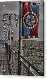 Kemah Boardwalk Acrylic Print
