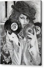 Kemp Muhl Acrylic Print by Angelica Medrano