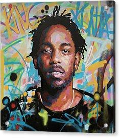 Kendrick Lamar Acrylic Print