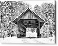 Keniston Covered Bridge  Acrylic Print
