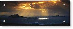 Kenmare Bay, Dunkerron Islands, Co Acrylic Print