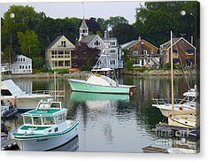 Kennebunkport Harbor Acrylic Print