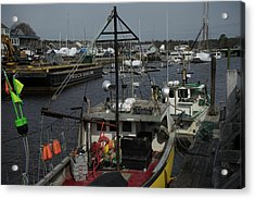 Kennebunkport Harbor In Early Winter Acrylic Print