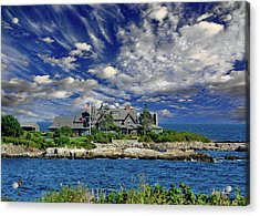 Kennebunkport, Maine - Walker's Point Acrylic Print by Russ Harris