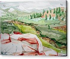 Kennedy Meadows 2 Acrylic Print by Amy Bernays