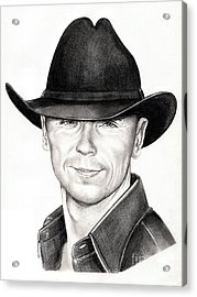 Kenny Chesney Acrylic Print