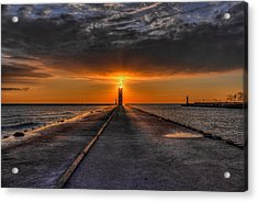 Kenosha Lighthouse Beacon Acrylic Print
