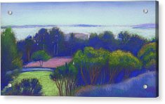 Kensington Blue View Acrylic Print