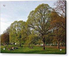 Kensington Gardens Acrylic Print by David L Griffin