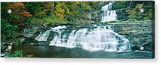 Kent Falls State Park, Connecticut Acrylic Print by Panoramic Images