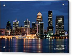 Kentucky Blue Acrylic Print