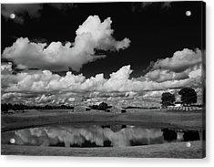 Kentucky Clouds Acrylic Print by Keith Bridgman