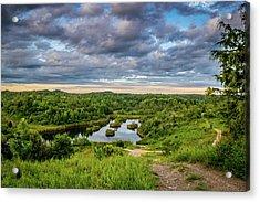 Kentucky Hills And Lake Acrylic Print
