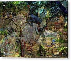 Kentucky Horse Park Acrylic Print by Bob Welch