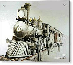 Kentucky Iron Horse Acrylic Print