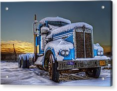 Kenworth Waiting For Summer Acrylic Print by Thomas Payer