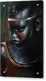 Kenya Beauty Acrylic Print