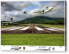 Kep Field Air Show Acrylic Print by Peter Chilelli
