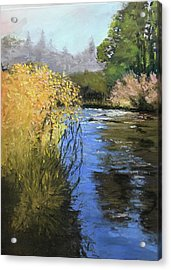 Kern River On A Fall Day Acrylic Print