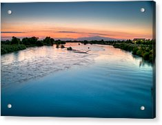 Kern River Sunrise Acrylic Print