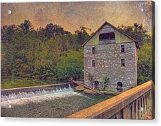 Kern's Mill Acrylic Print
