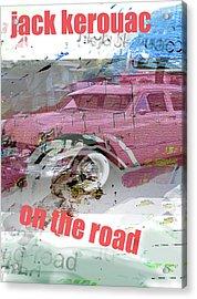 Kerouac Poster  Acrylic Print
