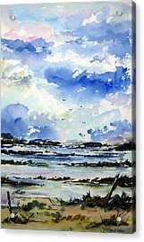 Kerry Morning Acrylic Print by Wilfred McOstrich