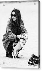 Acrylic Print featuring the photograph Kete Beckinsale by Ron Dubin