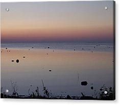 Kettle Point Sunset Acrylic Print