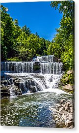 Keuka Outlet Waterfall Acrylic Print