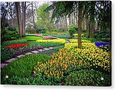 Keukehof Botanic Garden 2015 Acrylic Print