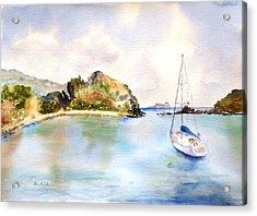 Key Bay, Peter Is. Acrylic Print