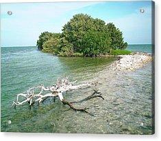 Key Largo Out Island Acrylic Print