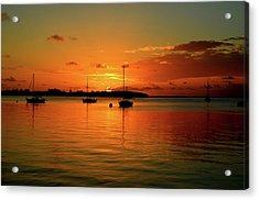 Key Largo Sunset Acrylic Print