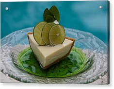 Key Lime Pie 25 Acrylic Print