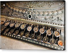 Key To Cash Acrylic Print by Caitlyn  Grasso