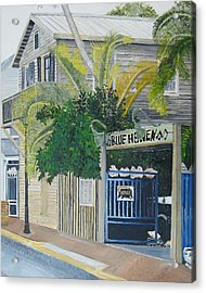 Key West Blue Heaven Acrylic Print