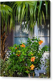 Key West Garden Acrylic Print