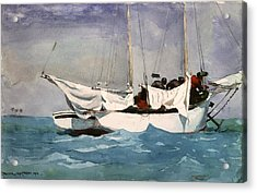 Key West Hauling Acrylic Print by Winslow Homer