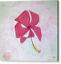 Key West Hibiscus Acrylic Print
