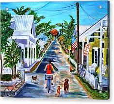 Key West Lane Acrylic Print