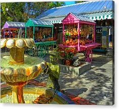 Key West Mallory Square Acrylic Print