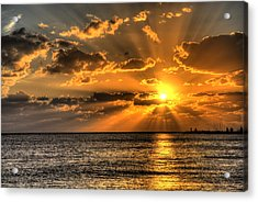 Key West Sunset Acrylic Print by Shawn Everhart