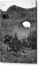 Keyhole Arch Acrylic Print by Brian M Lumley